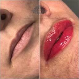 Revitalização labial ( Micropigmentação labial)