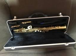 Vendo ou troco sax soprano Shelter lindo