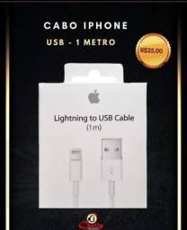 Título do anúncio: Promoção de sábado Cabo do iPhone 1m
