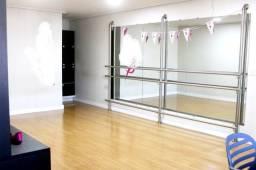 Título do anúncio: Barra de ballet e conjunto de espelhos