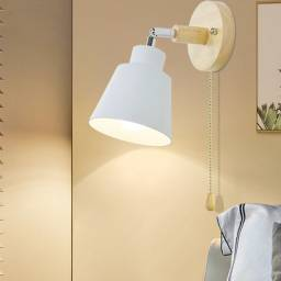 Luminária Nordic  arandela flexível de madeira ....leia o anúncio
