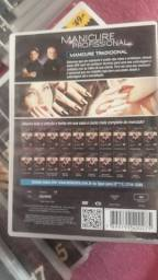Título do anúncio: Kit dvd curso manicure de la lastre