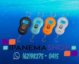 Título do anúncio: Balança Digital Gancho Pesca, Pescador, Mala de Viagem etc