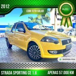 Título do anúncio: STRADA 2012 1.8 MPI SPORTING CE 16V FLEX 2P MANUAL