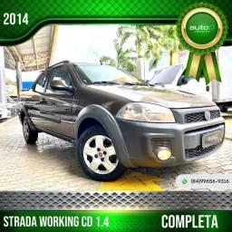 Título do anúncio: STRADA 2013/2014 1.4 MPI WORKING CD 8V FLEX 3P MANUAL