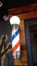 Vende-se barber pole pouco tempo de uso