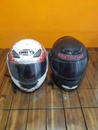 Vendo ou troco 2 capacetes