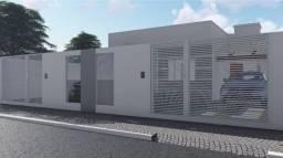 Título do anúncio: Casa geminada Linear em Obras, Pequi-MG, 2 quartos, 2 vagas de garagem.