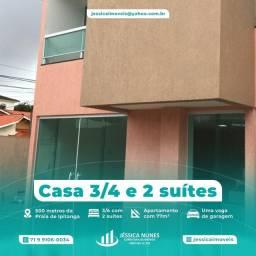 Título do anúncio: Village 34, duas suítes, em Praia de Ipitanga, Lauro de Freitas