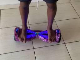 Hoverboard (Skate Elétrico) Rosa Galáxia 6,5 Polegadas