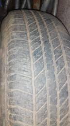 Vendas de dois pneu aro 17 para caminhonete meia-vida semi-novo