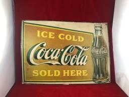 Antiga Placa da Coca-cola