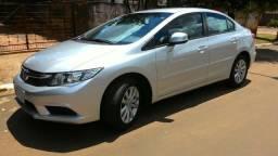 Honda Civic LXS, unico dono, automático - 2013