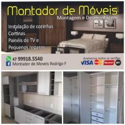 Montador de móveis, Itajaí e região
