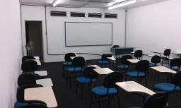 Locação sala de aula mobiliada no Figueiras Office