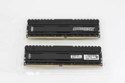 Kit 16GB (2 x 8 GB) Memória DDR4 Crucial Ballistix 3000MHZ