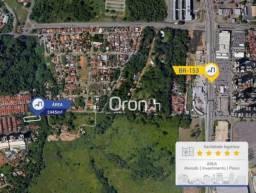 Área à venda, 2445 m² por r$ 480.000,00 - chácaras alto da glória - goiânia/go