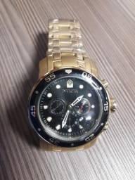 Relógio Invicta Pro-Diver Dourado