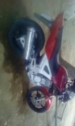 Vendo ou troco moto - 2002