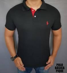 Camisas polo famosas atacado promoção