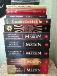 Livros Crônicas de Gelo e Fogo (Game of Thrones)