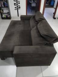 Vendo sofá reclinável 3 lugares