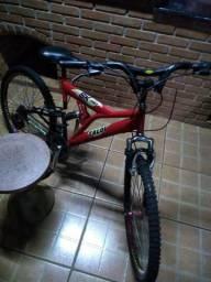 Bicicleta Sk Pro Caloi Vermelha Aro 26 usada
