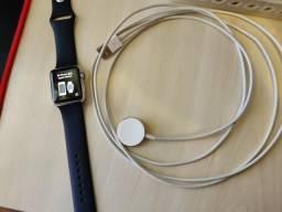 Apple Watch 1 geração 38mm aço inox tela de safira