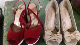 Vendendor esses sapatos os dois por 60 reais