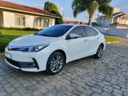 Corolla xei 2.0 automático 2019 Baixo Km. - 2019