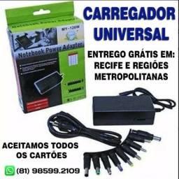 Carregador Notebook Universal-Entrego Grátis-Leia (Novo)