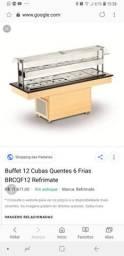 Buffet ,quente e frio 5meses de uso