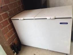 Freezer metal frio 419 litros