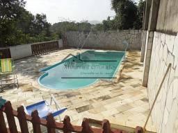 Casa C/Terreno De 3080 m², 4 Qtos, C/ Vista Privilegiada Da Lagoa Em Maricá