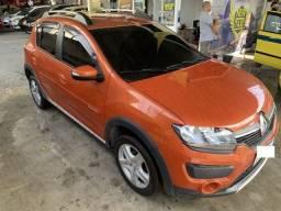 Renault sandero stepway 1.6 top, aprovação imediata, basta ter nome limpo