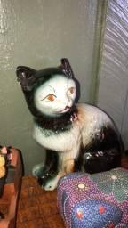 Gato de porcelana