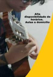Aulas de Violão, Baixo, Guitarra e Ukulele