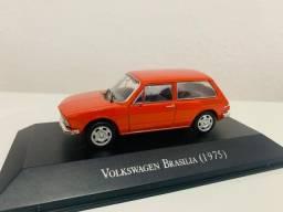 Miniatura Volkswagen Brasilia 1975 Metal 1:43