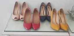 Lote de sapatos 37/38