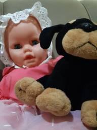 Boneca bebê importada da Argentina