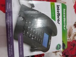 Telefone Intelbras a pilha e linha só ligar se tiver interesse obrigado *