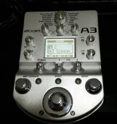 Pedaleira Zoom A3 para Violão, ou instrumentos acústico comprar usado  Americana