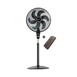 Ventilador de coluna Mallory Air Timer TS+ Preto/Grafite - Com controle remoto<br>