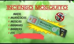 Incenso mata insetos