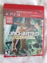 Uncharted 1, 2 e 3 - Jogos PS3