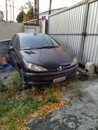 Peugeot 206 1.0 retirada pecad