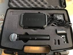 Microfone shure pgx beta 58a zerinho Original, Trindade-go