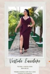 Título do anúncio: Vestidos plus
