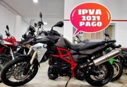 F 800 GS 2017 IPVA 2021 PAGO