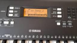 Título do anúncio: Teclado Super Novo Yamaha PSR E363 completo